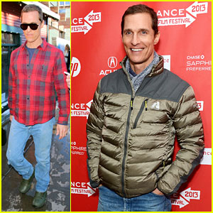 Matthew McConaughey: 'Mud' Premiere at Sundance!