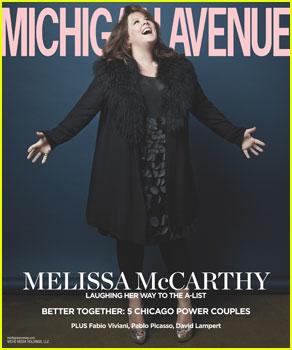 Melissa McCarthy Covers 'Michigan Avenue' Magazine Winter 2013