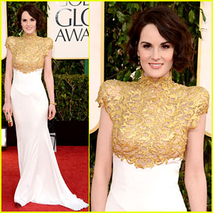 Michelle Dockery - Golden Globes 2013 Red Carpet