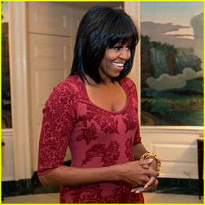 Michelle Obama Debuts Bangs on 49th Birthday!