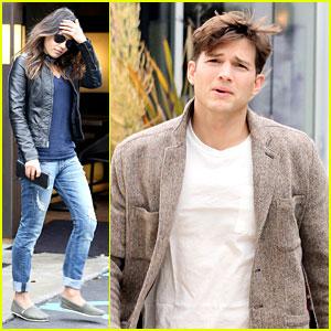 Mila Kunis & Ashton Kutcher: Separate Afternoon Outings!