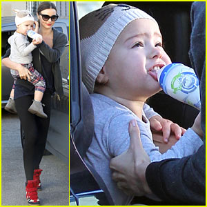 Miranda Kerr & Flynn: Workout Buddies