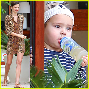 Miranda Kerr & Flynn: Cancun Family Vacation!