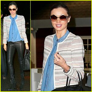Miranda Kerr: Mango Fashion Shoot in New York City!