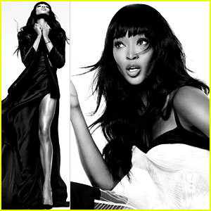 Naomi Campbell: Fierce Fashion Feature for 'Elle'!
