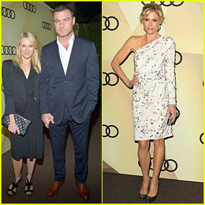 Naomi Watts & Liev Schreiber: Golden Globes Kick Off Cocktail Party!