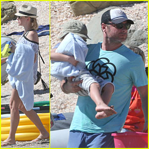 Naomi Watts & Liev Schreiber: New Year's Eve Rafting!