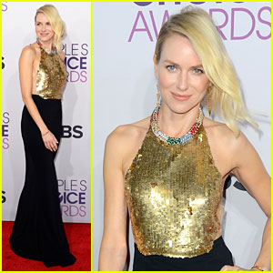 Naomi Watts - People's Choice Awards 2013 Red Carpet