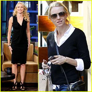 Naomi Watts: 'Tonight Show with Jay Leno' Appearance!