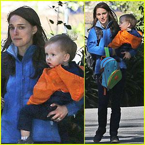 Natalie Portman & Aleph: Pasadena Play Date!