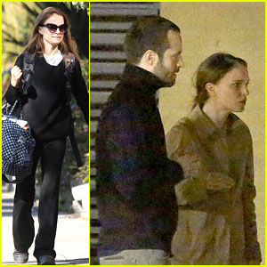 Natalie Portman Runs Errands After Date Night