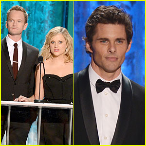 Neil Patrick Harris & James Marsden: SAG Awards Presenters!