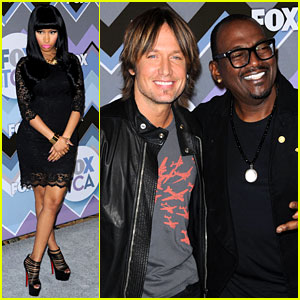 Nicki Minaj & Keith Urban: Fox's TCA All-Star Party!