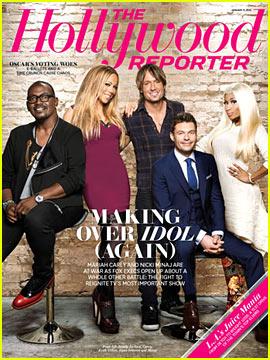 Nicki Minaj & Mariah Carey Cover 'The Hollywood Reporter'