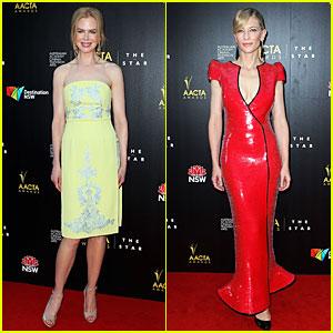 Nicole Kidman & Cate Blanchett: AACTA Awards Attendees!