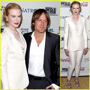 Nicole Kidman & Keith Urban: Gold Meets Golden Host!