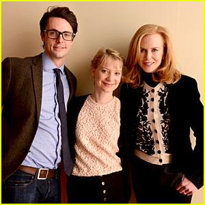 Nicole Kidman & Mia Wasikowska: 'Stoker' Sundance Portraits!