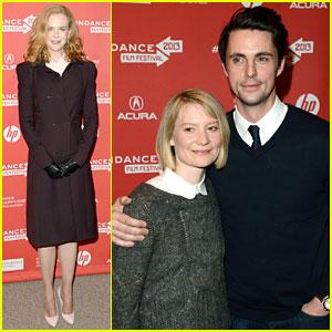 Nicole Kidman & Mia Wasikowska: 'Stoker' Sundance Premiere!