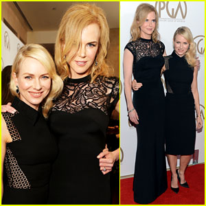 Nicole Kidman &#038; Naomi Watts - Producers Guild Awards 2013