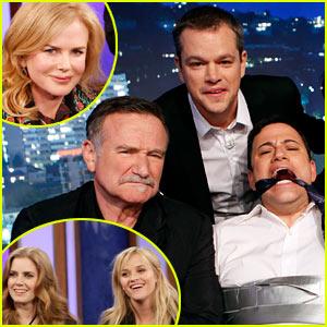 Nicole Kidman & Reese Witherspoon: Matt Damon's 'Jimmy Kimmel' Hijack!