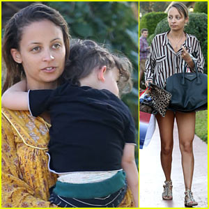 Nicole Richie: Beverly Hills Hotel Party!