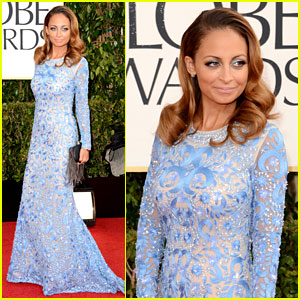 Nicole Richie - Golden Globes 2013 Red Carpet