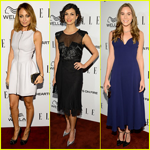 Nicole Richie & Morena Baccarin: Elle's Women In TV Party!