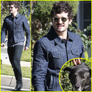 Orlando Bloom & Sidi: Beverly Hills Stop