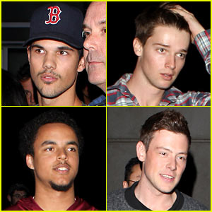 How tall is patrick-schwarzenegger dating taylor lautner