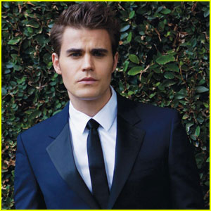 Paul Wesley Bites 'August Man' Magazine January 2013