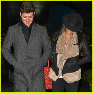Paula Patton & Robin Thicke: ArcLight Movie Date