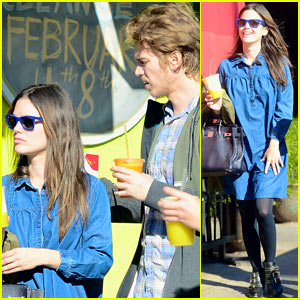 Rachel Bilson & Hayden Christensen Grab Juices To-Go!