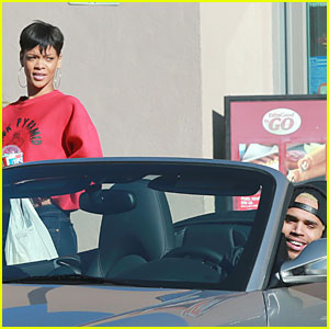 Rihanna & Chris Brown: Slurpee Craving Stop!