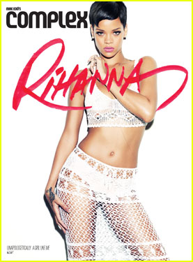 Rihanna Covers 'Complex' Magazine February/March 2013 Issue