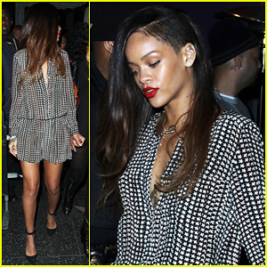 Rihanna: New Long Hair in Hollywood!