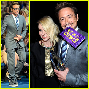 Robert Downey Jr. - People's Choice Awards 2013 Winner!