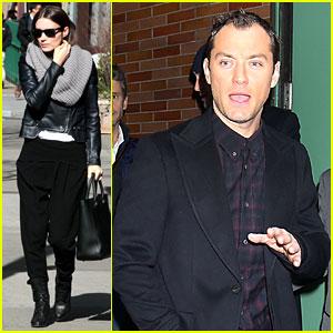 Rooney Mara & Jude Law: Pre-Premiere Big Apple Outings!