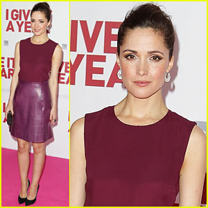Rose Byrne: 'I Give It A Year' Sydney Premiere!