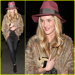 Rosie Huntington-Whiteley: Chateau Marmont Night Out!