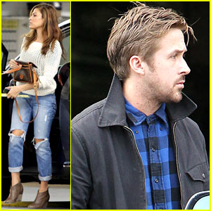 Ryan Gosling & Eva Mendes: Separate Food Runs!