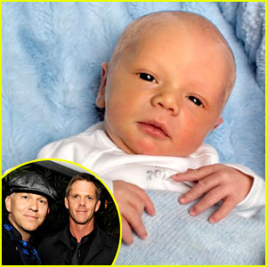 Ryan Murphy Shares Baby Logan's First Picture!