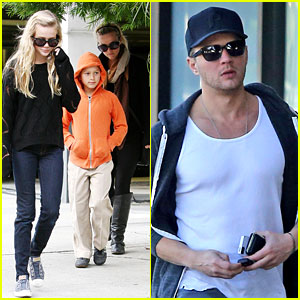 Ryan Phillippe Eats Subway, Reese Witherspoon & Kids Shop