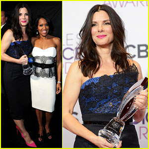 Sandra Bullock - People's Choice Awards 2013 Winner!