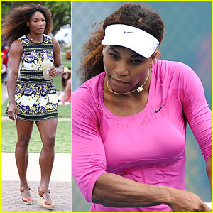 Serena Williams: Brisbane International Arrival!