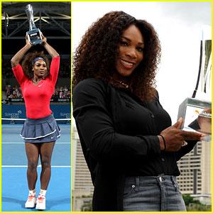 Serena Williams Wins Brisbane International Tournament!