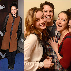 Shailene Woodley: 'Spectacular Now' Sundance Party!