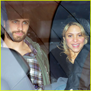 Shakira & Gerard Pique Leave Hospital with Baby Milan!