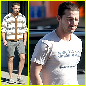 Shia LaBeouf: No More Beard!