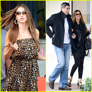 Sofia Vergara & Nick Loeb: Mall Shopping Couple!