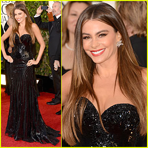 Sofia Vergara - Golden Globes 2013 Red Carpet